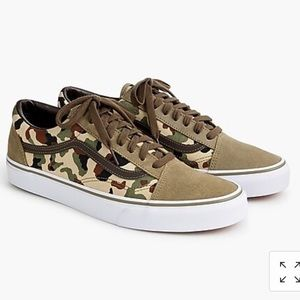 Vans Old Skool Camo Sneakers